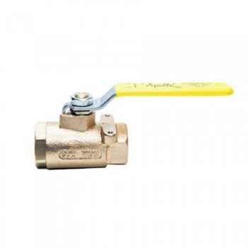 Apollo Bronze Ball Valve With Mounting Pad