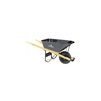 Heavy-Duty Steel Wheelbarrow