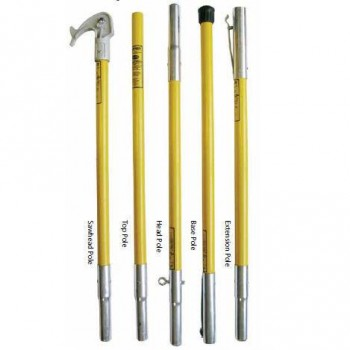 Hollow Core Fiberglass Pruning Poles