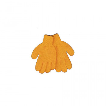 Golden Knit Glove with Web Grip
