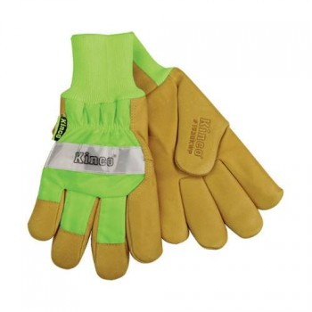 High Visibility Glove with Waterproof Insert