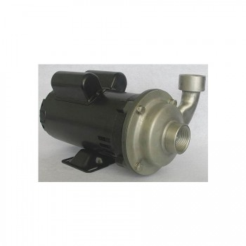 Dayton Stainless Steel Centrifugal Pump - ¾″ Ports