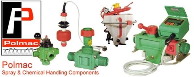 Polmac Spray Components