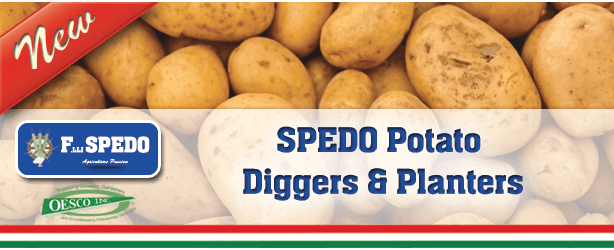 SPEDO Potato Diggers and Planters